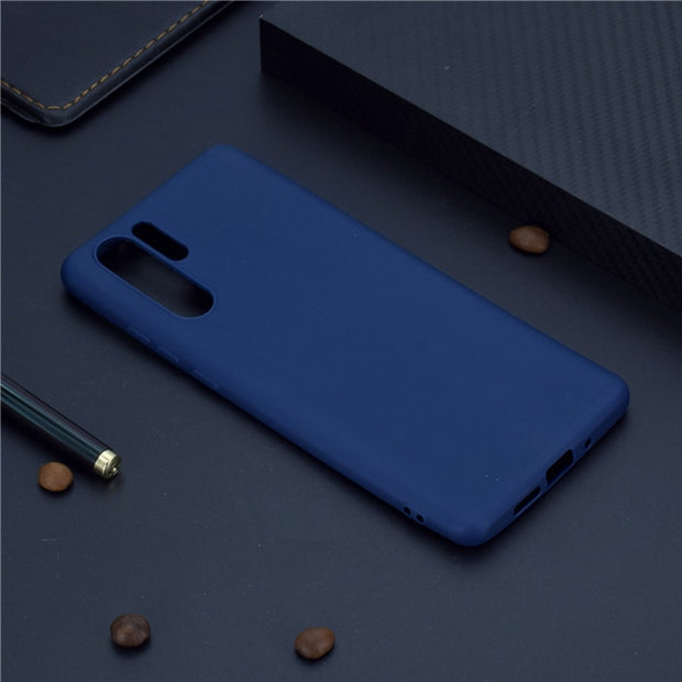 Tpu Soft Phone Case For Fundas Huawei P30 Pro Case 360 Candy Color Sil The Big Cat Cases