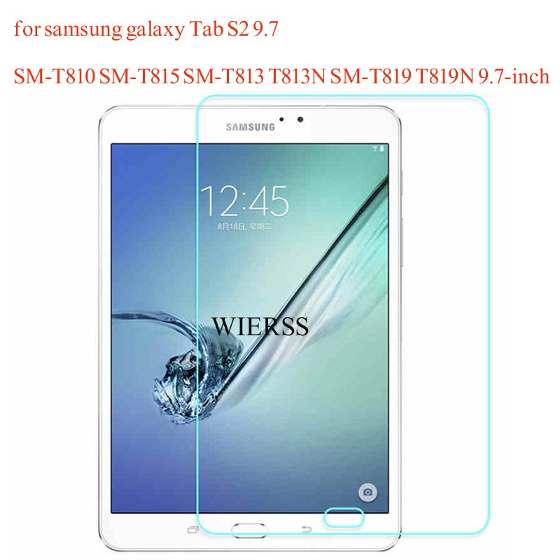 Tempered Glass Screen Protector Cover For Samsung Galaxy Tab S2 9.7 SM-T810 T815