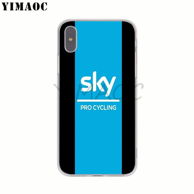 Cover iPhone XS B078 - - Cover iPhone XS B078 Sky Blue