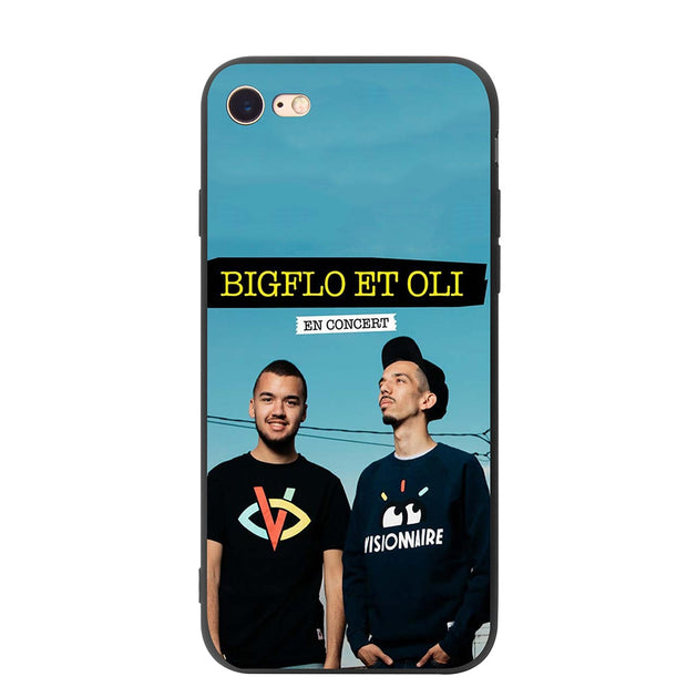 YIMAOC Bigflo Oli Soft Silicone Case for iPhone XS Max XR X 8 7 6 6S 9089f5ae 0d92 4051 824a 2582c8fae09c 620x