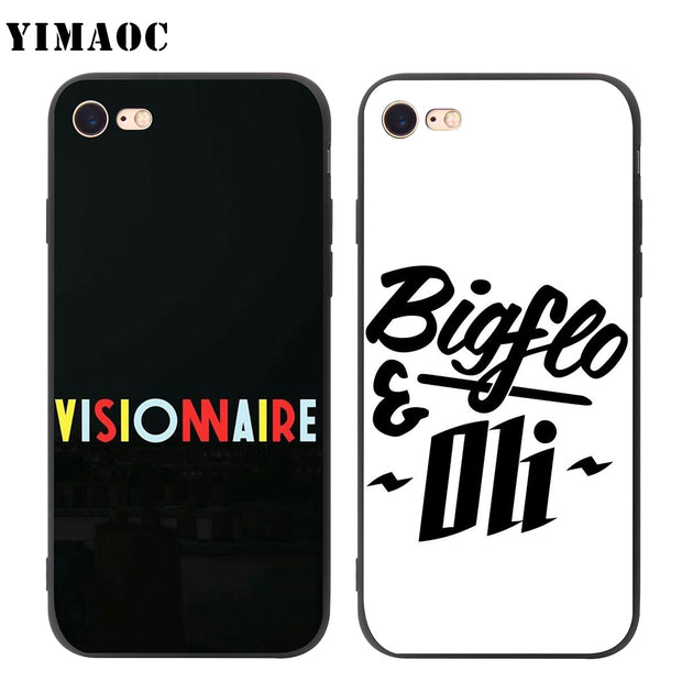 YIMAOC Bigflo Oli Soft Silicone Case for iPhone XS Max XR X 8 7 6 6S e9e7beaa e70c 4efe aa57 70975c8ad1f6 620x
