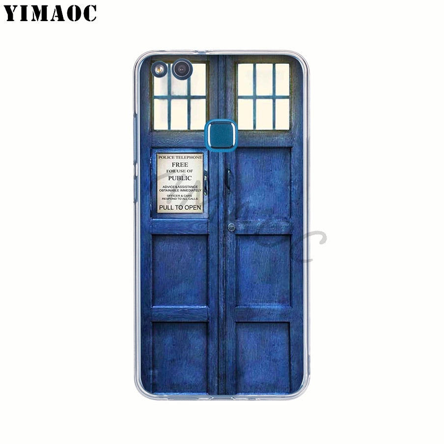 Phone Bags & Cases Cellphones & Telecommunications Doctor Who Police Tpu Silicone Phone Case For Huawei P8 P9 P10 P20 2015 2016 2017 Mate 10 20 Lite Pro
