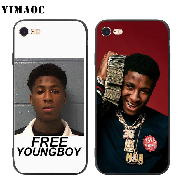 the latest a0b19 7d488 YIMAOC Youngboy Never Broke Again Soft Silicone Case For IPhone XS ...