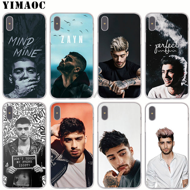 32955908935 Alliance Inspired by Zayn Malik Phone Case Compatible With Iphone 7 XR 6s Plus 6 X 8 9 Cases XS Max Clear Iphones Cases TPU Temporary Alliance Calender Collection