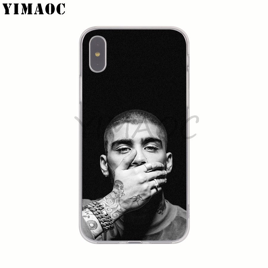 Record Signed Whole Pillow Inspired by Zayn Malik Phone Case Compatible With Iphone 7 XR 6s Plus 6 X 8 9 Cases XS Max Clear Iphones Cases TPU Record 33055261261