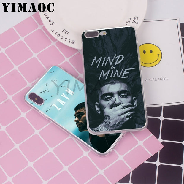Signed Whole Record Inspired by Zayn Malik Phone Case Compatible With Iphone 7 XR 6s Plus 6 X 8 9 Cases XS Max Clear Iphones Cases TPU Pillow 33055261261 Record