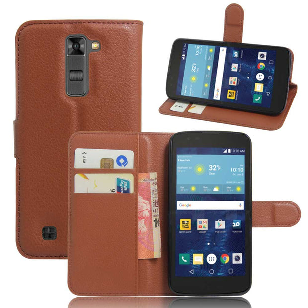 best website e4322 f13ab YINGHUI PU Leather Flip Case For LG K7 LTE 4G X210ds X210 5.0 Inches Europe  & Russia Version Cell Phone Case Cover Wallet Style