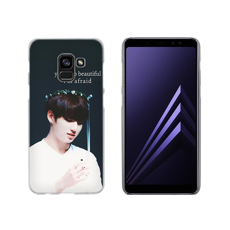 bts photocard Transparent Phone hard Case for Samsung Galaxy A3 A5 A6s A7 A8 2016 2017 d1d83e2a f1aa 4388 a466 38773afbefe0