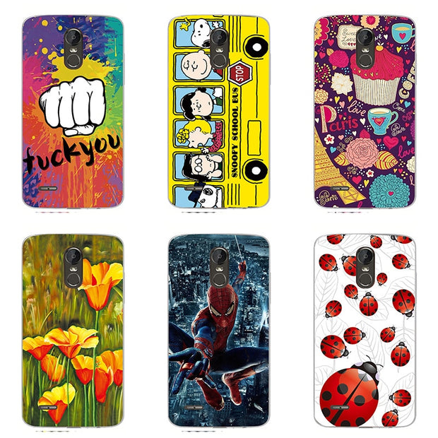 Fashion Style Phone Case Colour Phone Shell For LG Stylo 3/ LS777 Hard  Plastic Phone Case Colorful Painting Skin Shell