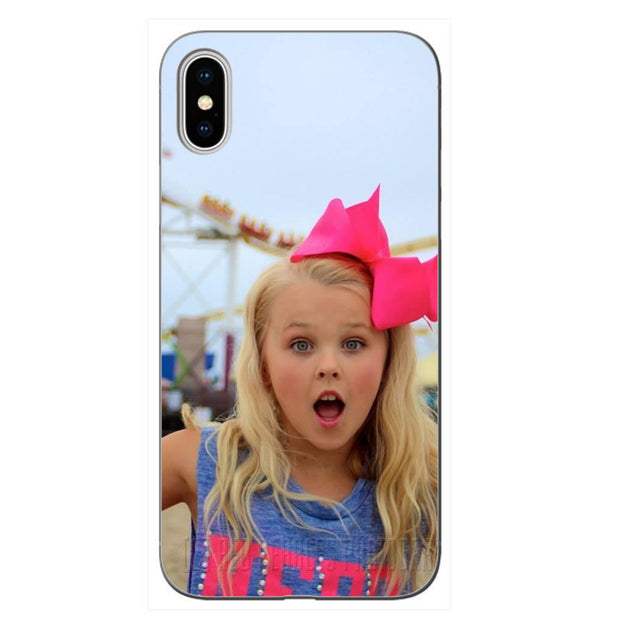 size 40 dd2bf 33e32 Jojo Siwa Transparent Soft Silicone Phone Cover For IPhone XS XR MAX ...