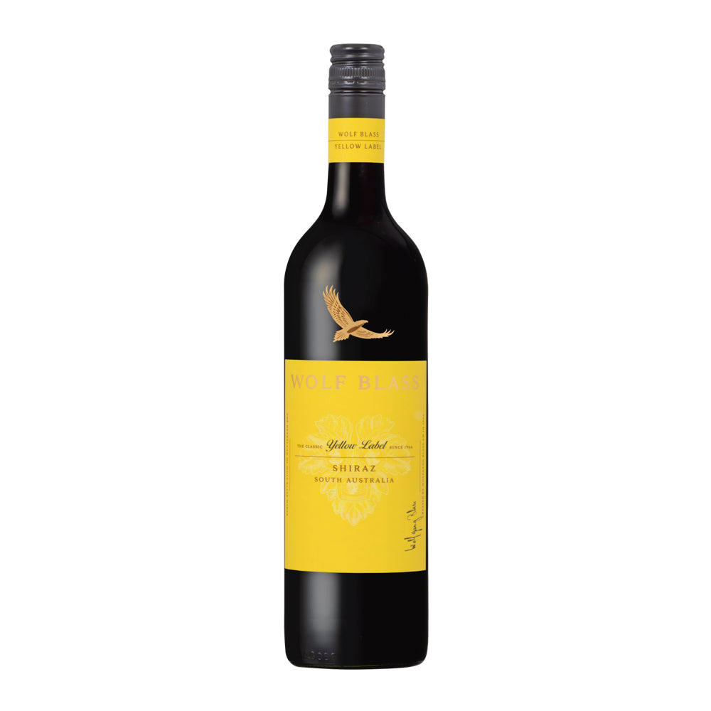 This is a photo of Mesmerizing Wolf Blass Red Label Shiraz 2020