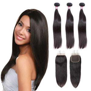 cheap-human-hair-3-bundles-with-closure-straight