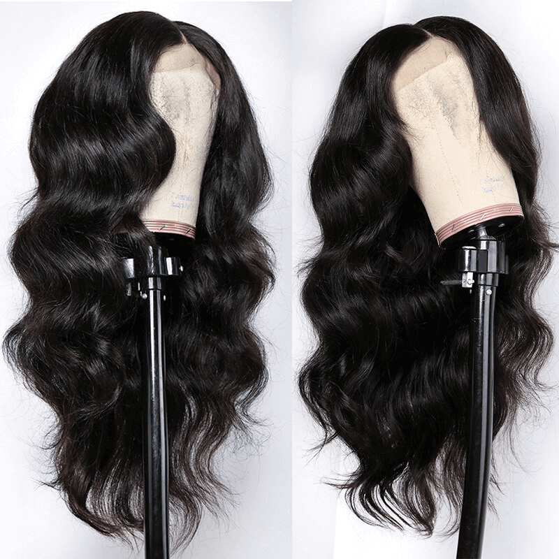 body wave human hair full lace front wigs