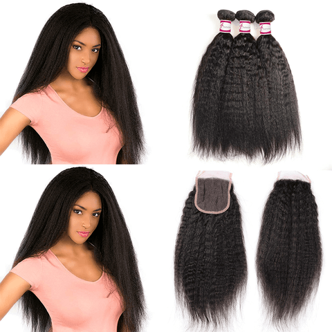 best-kinky-straight-hair-3-bundle-deals-with-closure
