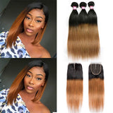 ombre-straight-hair-3-bundles-with-closure