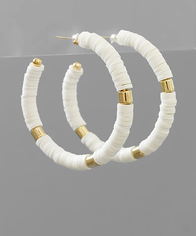 Rubber Bead Hoops