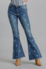 Star Bell Bottom Flare Jeans