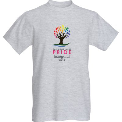 The Woodlands Pride T-Shirt - Ash Gray