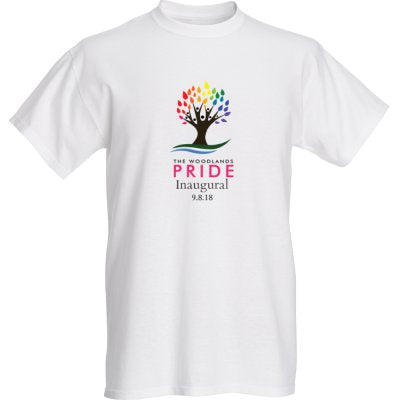 The Woodlands Pride T-Shirt - White