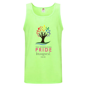 The Woodlands Pride Tank - Neon Green