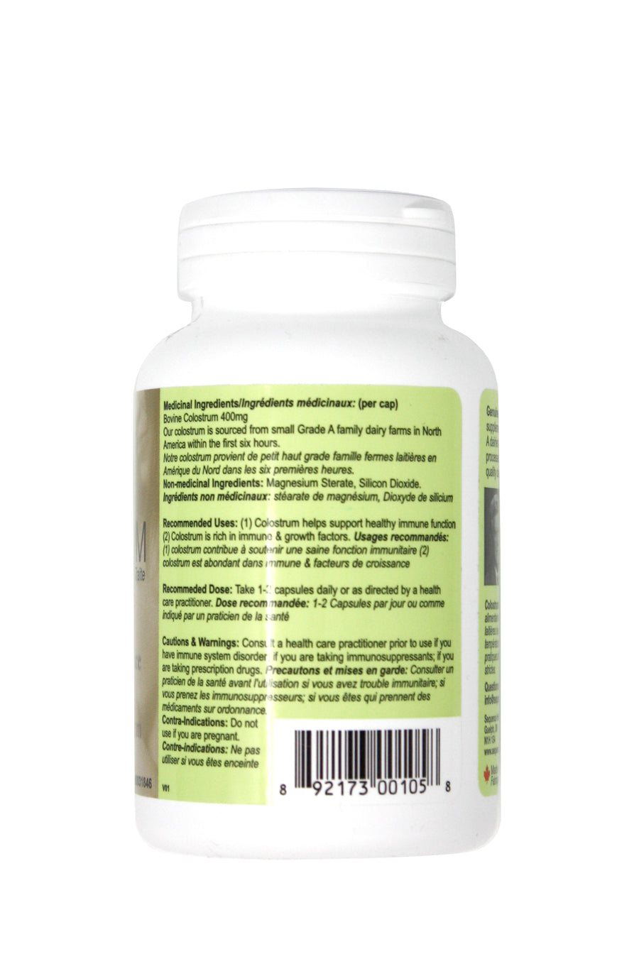 Sequence Health Colostrum Capsules