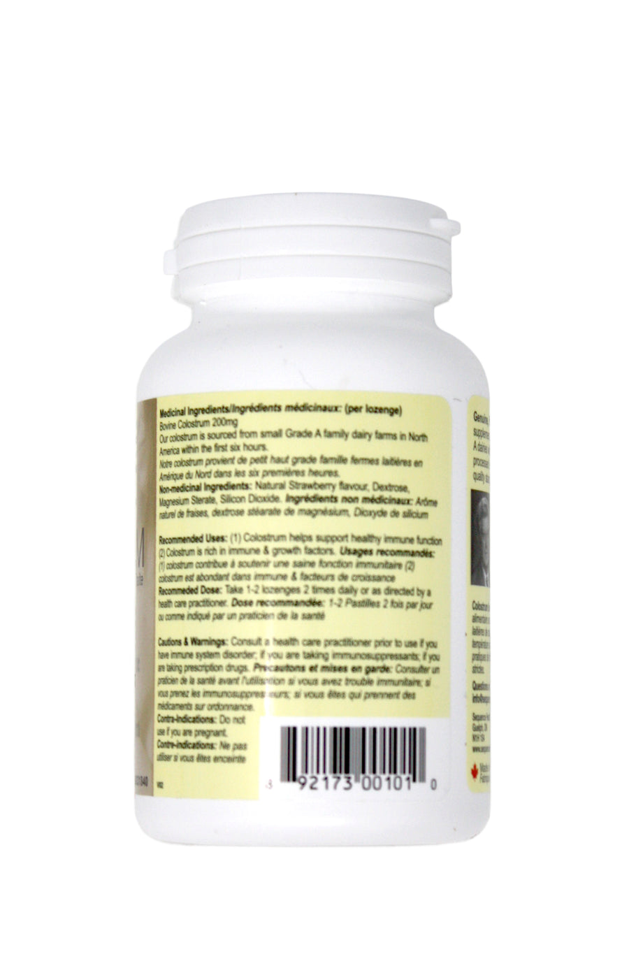 Sequence Health Colostrum Lozenges