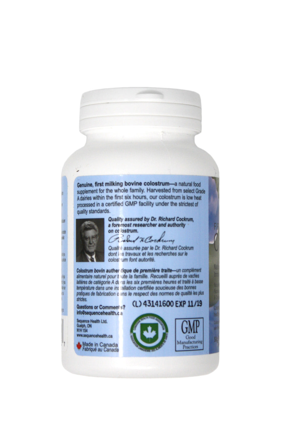 Sequence Health Colostrum Powder