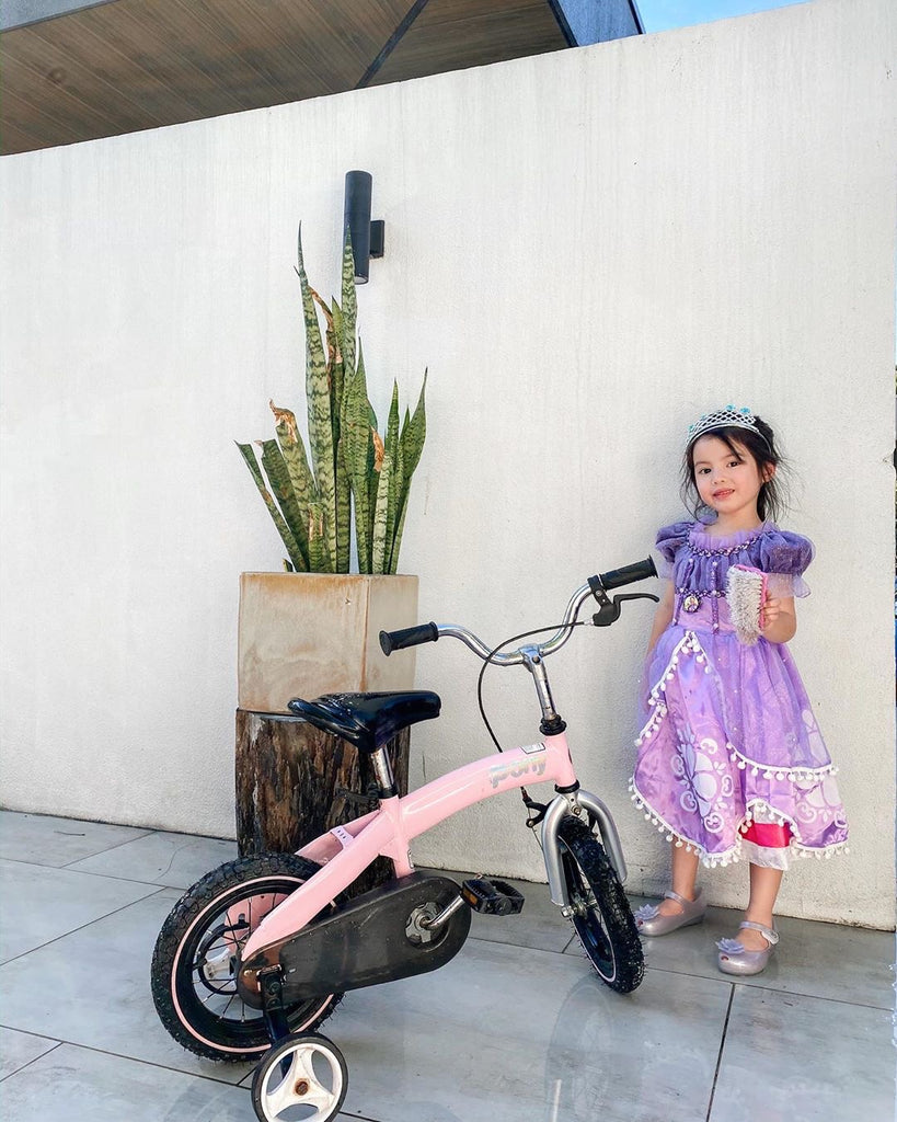 Olivia Manzano Reyes Charms with Her New Bike