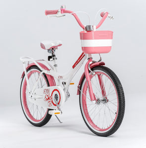 "RoyalBaby Jenny Girls Bike 20""-White"