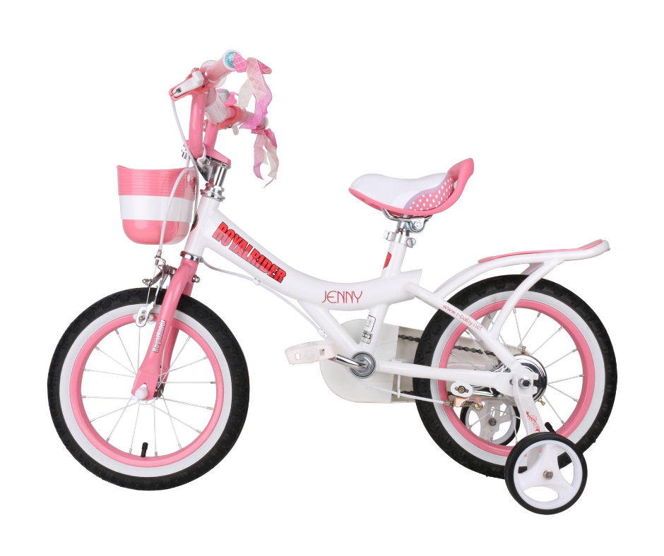 "RoyalBaby Jenny Girls Bike 16""-White"
