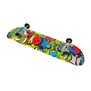 "Chaser 31"" Wooden Maple Skateboard(6120)-Monsters"