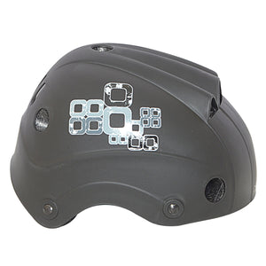 Chaser Kids Active Skate Scooter Bike Helmet-Black