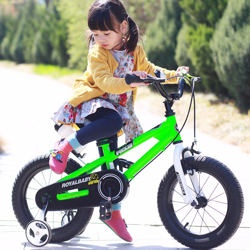 "RoyalBaby BMX Freestyle Kids Bike 16""-Green"