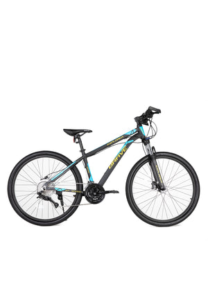 "Brave Explorer Alloy Mountain Bike 27.5""(27-S)-Black/Blue/Yellow"