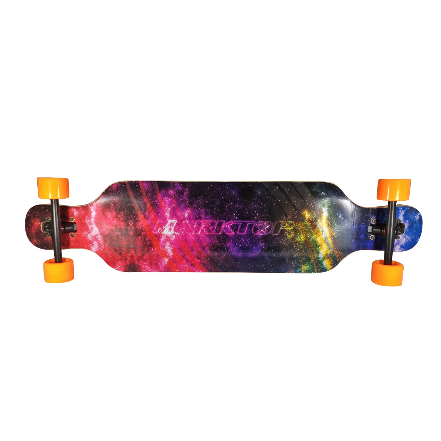 "Chaser 41"" Marktop 9-Ply 1896 Maple Wood Longboard-Galaxy"