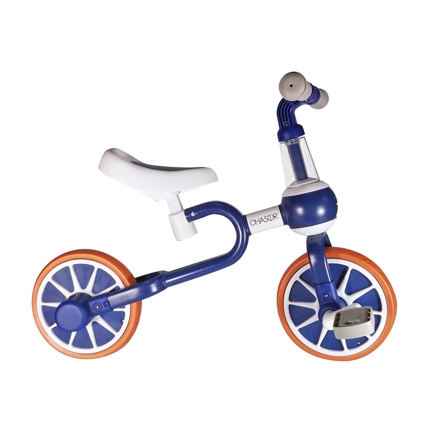 Chaser 3 IN 1 Trike Bike(HD-100B)-Navy Blue/White