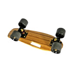 "Chaser 18"" Bamboo Cruiser Penny Skateboard-Brown"