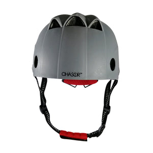 Chaser Pro Active Skate Scooter Bike Helmet for Teen/Adult-Gray