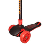 Chaser Pop Dots Folding Scooter (5939)-Jet Black