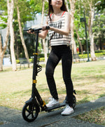 Chaser X1 Manual Kick Scooter-Black/Gold