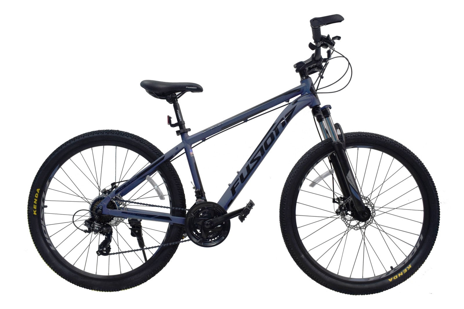 "Fusion Force Alloy 26""/27.5""/29""-Matte Blue/Black"