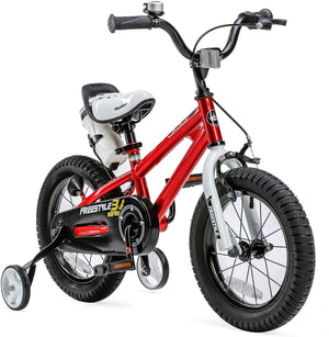 "RoyalBaby BMX Freestyle Kids Bike 12""-Red"