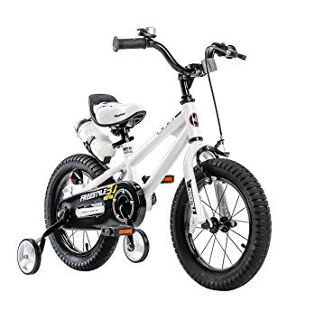 "RoyalBaby BMX Freestyle Kids Bike 12""-White"
