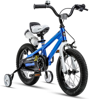"RoyalBaby BMX Freestyle Kids Bike 16""- Blue"