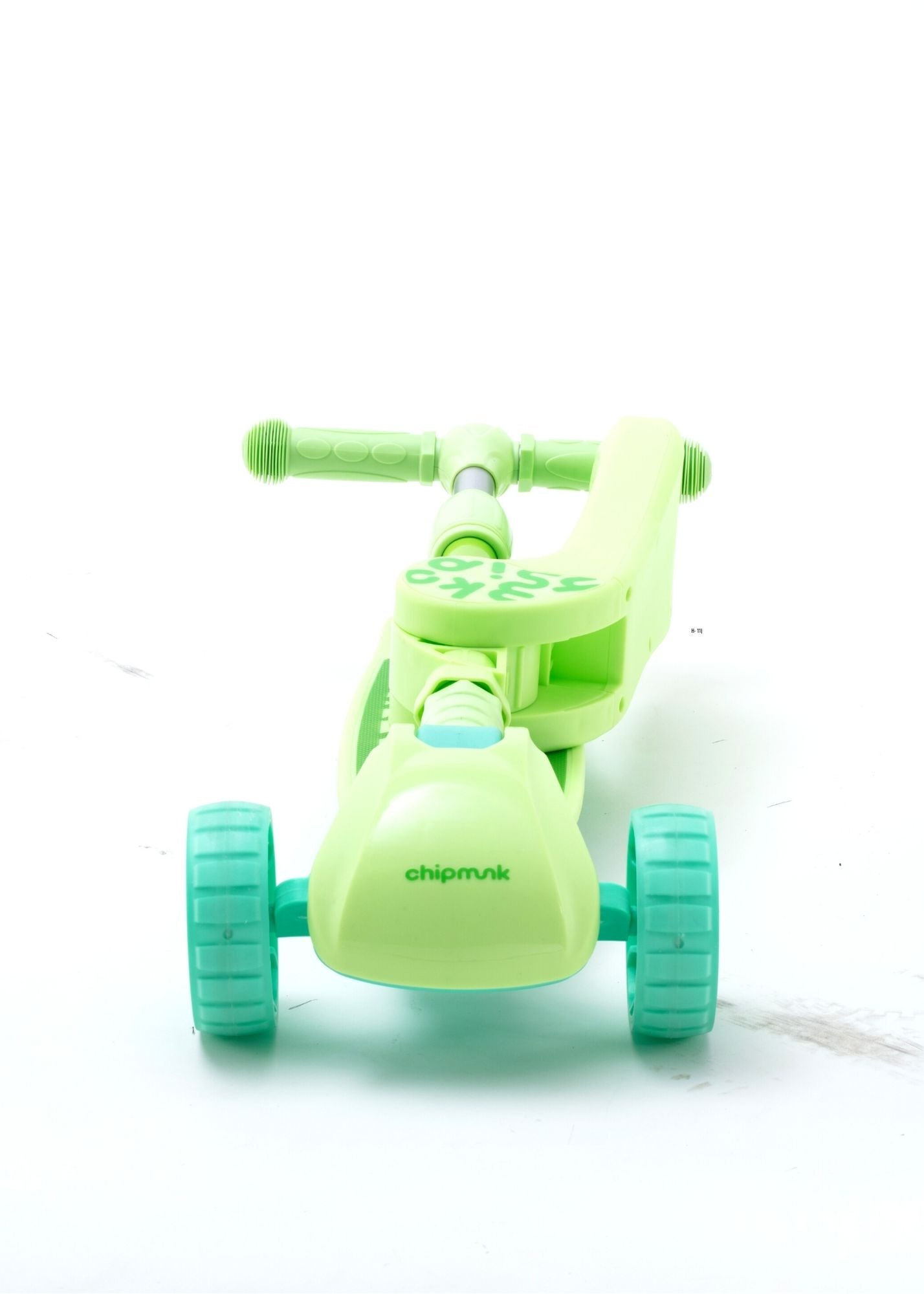 RoyalBaby Chipmunk 2 in 1 Toddler Kids Scooter w/ Seat (CM-S2)-Green