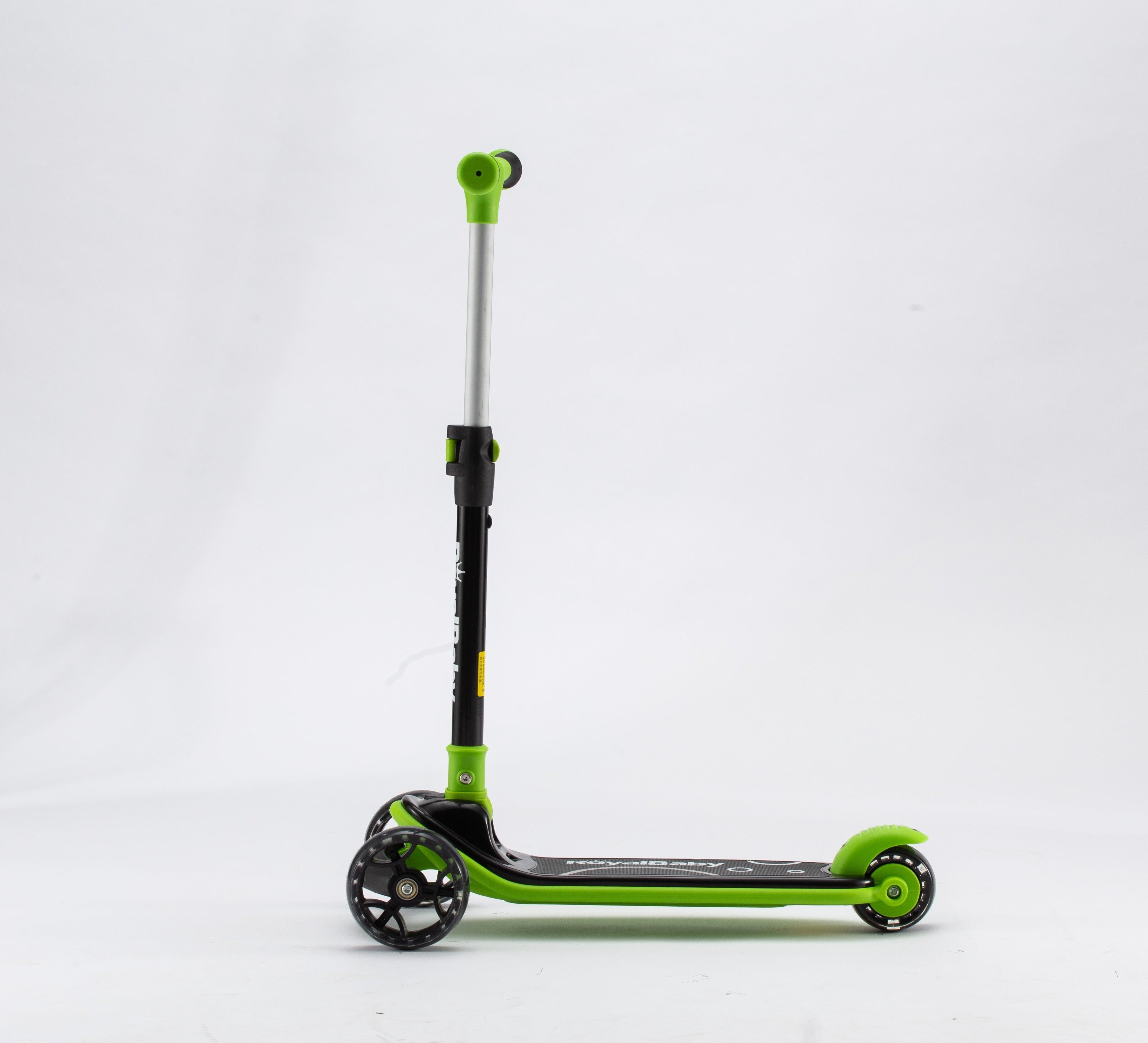 RoyalBaby Upgrade Toddler Kids Scooter(089-19)-Black/Green