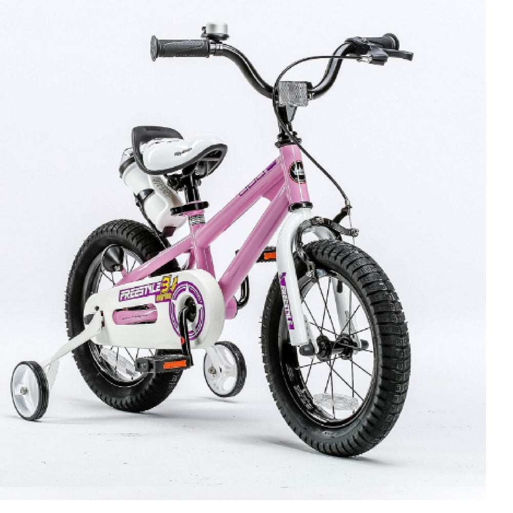 "RoyalBaby BMX Freestyle Kids Bike 16""-Pink"