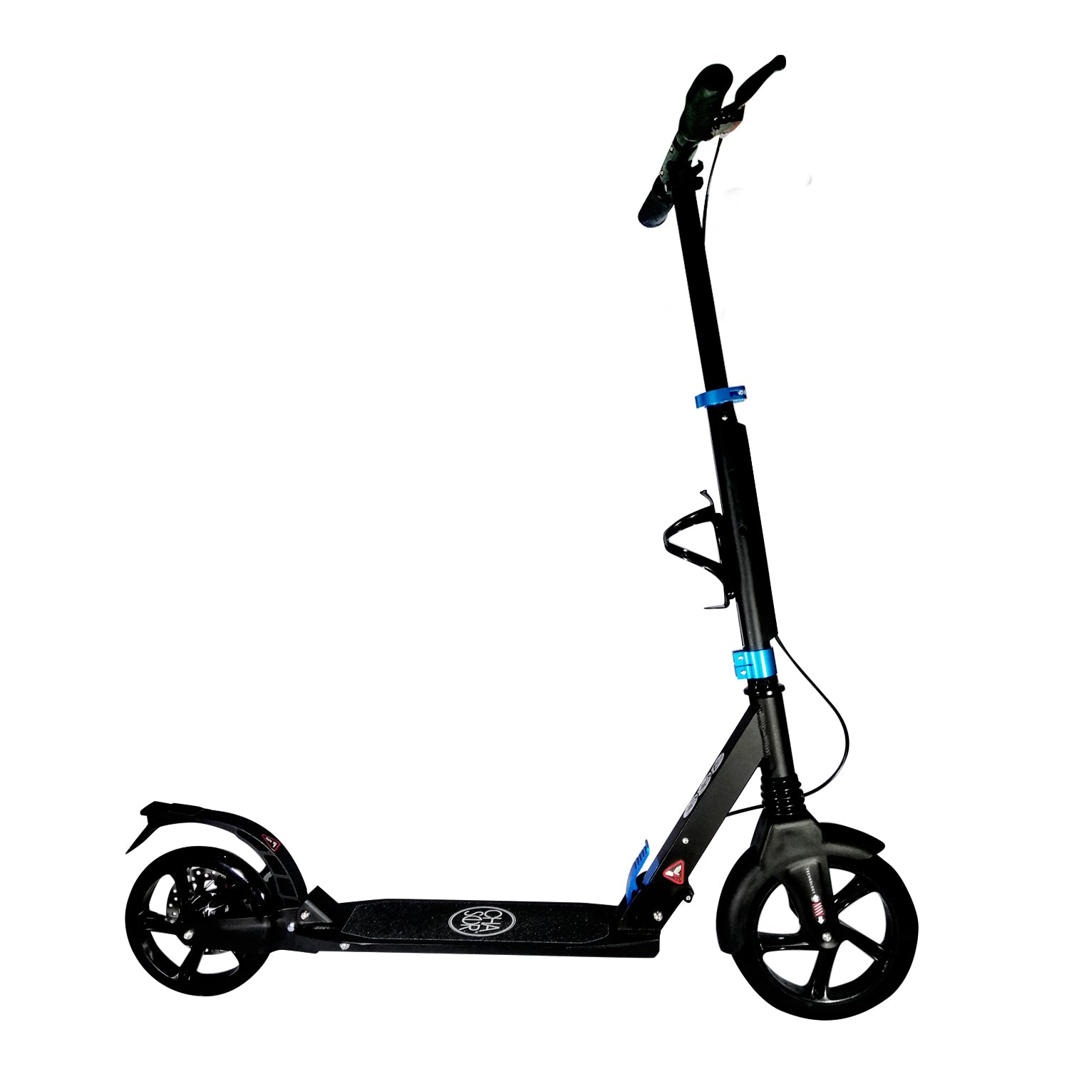 Chaser X1 Manual Kick Scooter-Black/Blue
