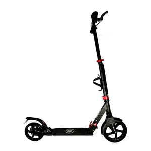Chaser X1 Manual Kick Scooter-Black/Red