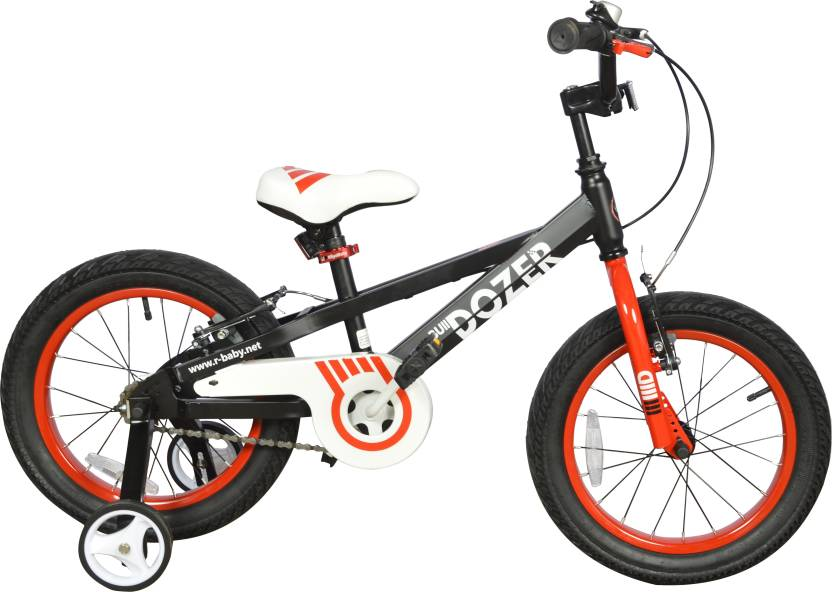 "RoyalBaby Bulldozer Fat Bike 16""-Black"